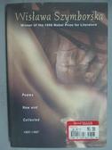 【書寶二手書T7/文學_YKP】Poems, New and Collected, 1957-1997_Szymbors