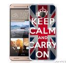 ✿ 3C膜露露 ✿【文字國旗*硬殼】HTC ONE ME手機殼 手機套 保護套 保護殼