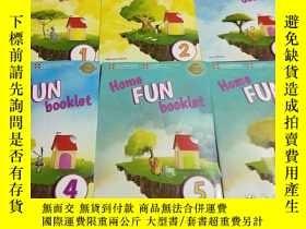 二手書博民逛書店Home罕見fun booklet(1-6)6本合售Y6856