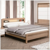 【水晶晶家具/傢俱首選】ZX1133-3金詩涵5 尺低甲醇防蛀木芯板雙人床架~~床墊另購