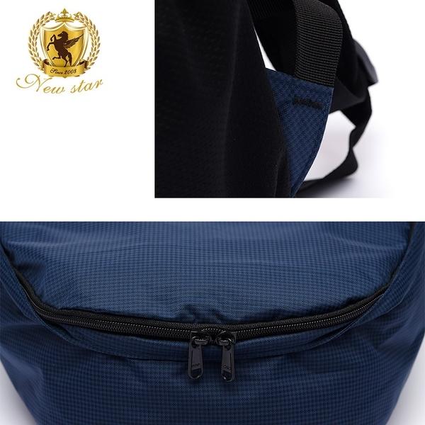 後背包 簡約超輕量格紋防水口袋包包 男 女 男包 現貨 NEW STAR BK286