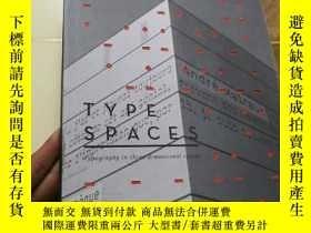 二手書博民逛書店外文原版罕見TYPE SPACES: Typography in