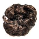 【頭髮增量】假髮甜甜圈(具鬆緊帶可綁)加厚 (棗紅色) [28452]
