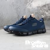 Skechers AIR 92 藍 黑色氣墊 慢跑 透氣 男(布魯克林)2019/02月 52569NVBK