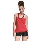 ★奧可那★ 紅黑條紋罩衫泳衣
