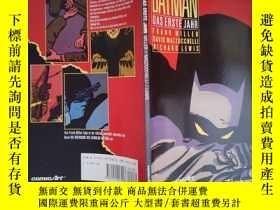 二手書博民逛書店Batman:罕見Das erste JahrY6583 具體見圖 具體見圖 出版1989