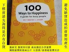 二手書博民逛書店The罕見Secrets of Happiness: 100 W