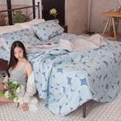 我的梵谷 A2雙人兩用被乙件 100%復古純棉 台灣製造 棉床本舖