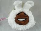【震撼精品百貨】Touch Detective_菇菇栽培方吉磨菇~造型絨毛珠扣零錢包吊飾『羊』