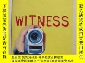 二手書博民逛書店英文原版罕見Witness by Anne Cassidy Y1