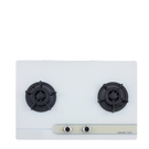 (無安裝)櫻花雙口檯面爐白色(與G-2623GW同款)瓦斯爐桶裝瓦斯G-2623GWL-X