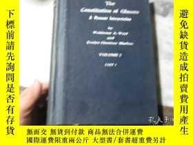 二手書博民逛書店The罕見Constitution of Glasses A D