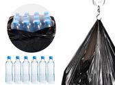 新年大促 漢世劉家黑色垃圾袋加厚家用塑料袋中大號手提背心式拉圾袋