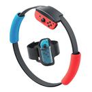 [哈GAME族]免運費●健身環配件●Switch NS GP-319 Ring-Con專用布套 + 腿部綁帶 二合一遊戲套件組