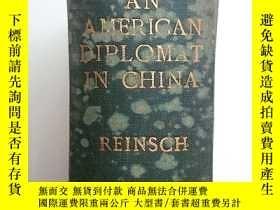 二手書博民逛書店G-0305西文漢學罕見An American Diplomat