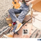《KG1100》高含棉造型大口袋直筒休閒牛仔長褲 OrangeBear