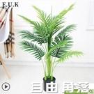 假植物盆栽仿真散尾葵客廳擺設落地假花裝飾家居葵樹大型綠植盆景 自由角落