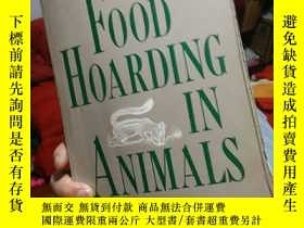 二手書博民逛書店Food罕見hoarding in animals拍前請詢問Y2