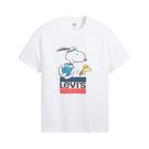 Levis X Snoopy sport限量聯名 男款 短袖T恤 / 史努比、糊塗塔克賽跑Logo