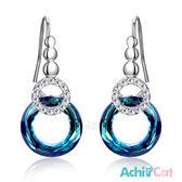 水晶耳環 AchiCat 正白K 甜蜜佳人 耳勾式 兩款任選