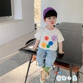 男童短袖t恤夏季上衣韓版寶寶半袖【奇趣小屋】