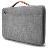 【唐吉】Tomtoc 精選風格 MacBook Pro 15吋 (2016-2018) / 15.6 吋 筆電包- 灰