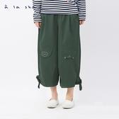 a la sha 動物活片造型氣球裙褲