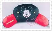 ♥小花花日本精品♥Hello Kitty Disney迪士尼米奇U形枕枕頭睡枕靠枕飛機枕大臉星星紅黑配色 (預購)