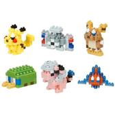《 Nano Block 迷你積木 》【 神奇寶貝系列 】 NBMC_08S 迷你寶可夢系列(一盒6入) / JOYBUS玩具百貨