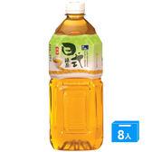 悅氏日式綠茶2000ml*8入/箱【愛買】