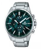 卡西歐CASIO EDIFICE賽車錶(ETD-300D-3A)綠面/46mm/原廠公司貨