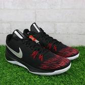 Nike ZOOM EVIDENCE II EP 黑紅 XDR 耐磨 籃球鞋 男鞋 (布魯克林) 2018/3月 908978-006