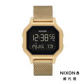 【酷伯史東】NIXON Siren Milanese 閃耀金 防水電子錶 米蘭風情錶帶 運動休閒 潮汐錶 情人禮物