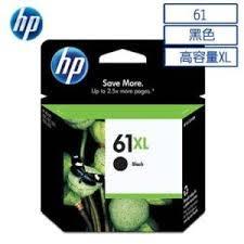 HP CH563WA NO.61XL原廠大印量黑色墨水匣 適用j110a/J210a/J310a/J410a/J510a/J610a/DJ2540/OJ4630(原廠品)