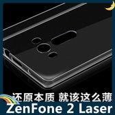 ASUS ZenFone 2 Laser 5.5吋 半透糖果色清水套 軟殼 超薄防滑 矽膠套 保護套 手機套 手機殼
