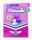 【震撼精品百貨】Micky Mouse_米奇/米妮 ~文件夾~米妮&黛西紫藍#44597