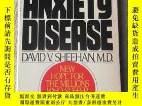 二手書博民逛書店The罕見Anxiety Disease (New Medica