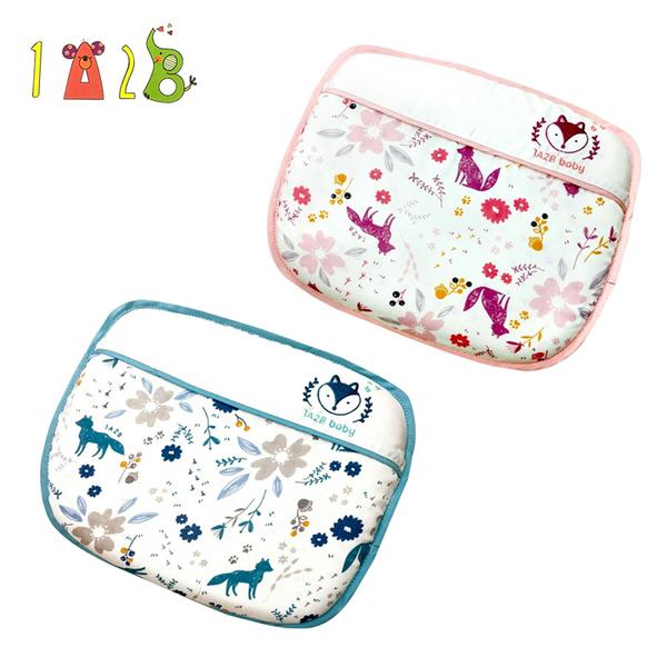 【愛吾兒】1A2B 天然乳膠護頭枕-小藍狐/小紫狐-0M+