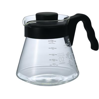 金時代書香咖啡  HARIO V60好握02黑色咖啡壺 700ml VCS-02B