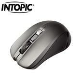 INTOPIC 廣鼎 MSW-720 2.4G 飛碟無線光學滑鼠 灰