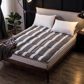 床墊 床墊1.8m床1.5m床1.2米單人雙人褥子墊被學生宿舍海綿榻榻米床褥 米蘭街頭IGO