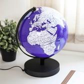 SkyGlobe 10吋Colorful彩色發光地球儀-深紫(體積過大不可超取)