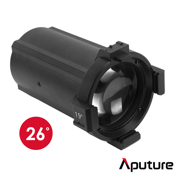 Aputure 愛圖仕 Spotlight Lens 26° 聚光燈 安裝單鏡頭 26度 特殊效果 適用 120D 300D II Bowens 保榮 公司貨
