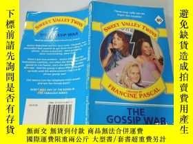 二手書博民逛書店The罕見Gossip War:流言蜚語之戰Y200392