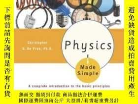 二手書博民逛書店Physics罕見Made Simple (made Simple (broadway Books))Y255