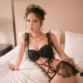 斯蜜小姐性感睡衣女夏女僕裝可愛女傭角色扮演制服誘惑騷情趣睡裙   麥吉良品