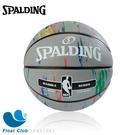SPALDING 斯伯丁 NBA 大理石印花系列 7號 灰色 SPA83883 原價720元