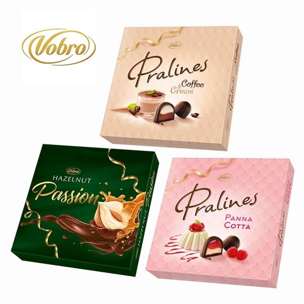 威寶夾心巧克力(義式咖啡奶酪/榛果/義式奶酪) (方盒款)