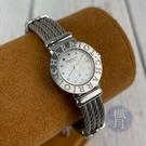 BRAND楓月 CHARRIOL 夏利豪 ST20鋼索石英錶 手錶 腕錶 時計 白盤 銀針 鍊子 整點鑽 配飾 配件