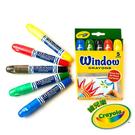 美國Crayola繪兒樂 玻璃彩繪絲滑蠟筆 麗翔親子館
